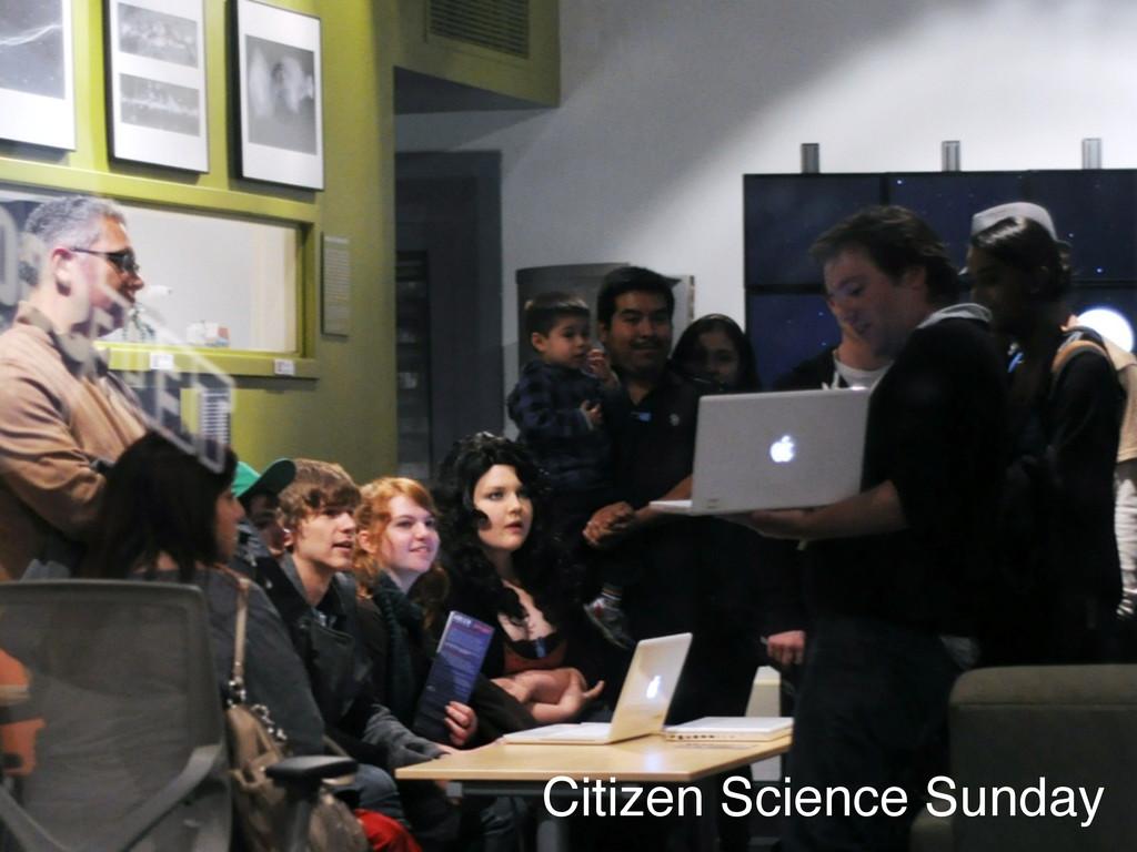 Citizen Science Sunday