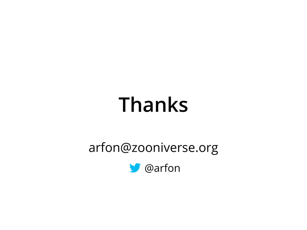 Thanks arfon@zooniverse.org @arfon