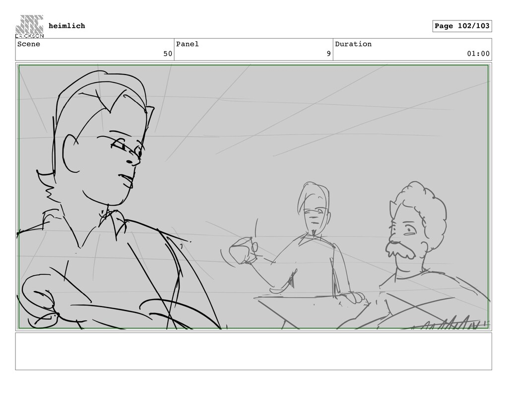 Scene 50 Panel 9 Duration 01:00 heimlich Page 1...
