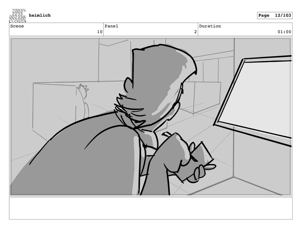 Scene 10 Panel 2 Duration 01:00 heimlich Page 1...
