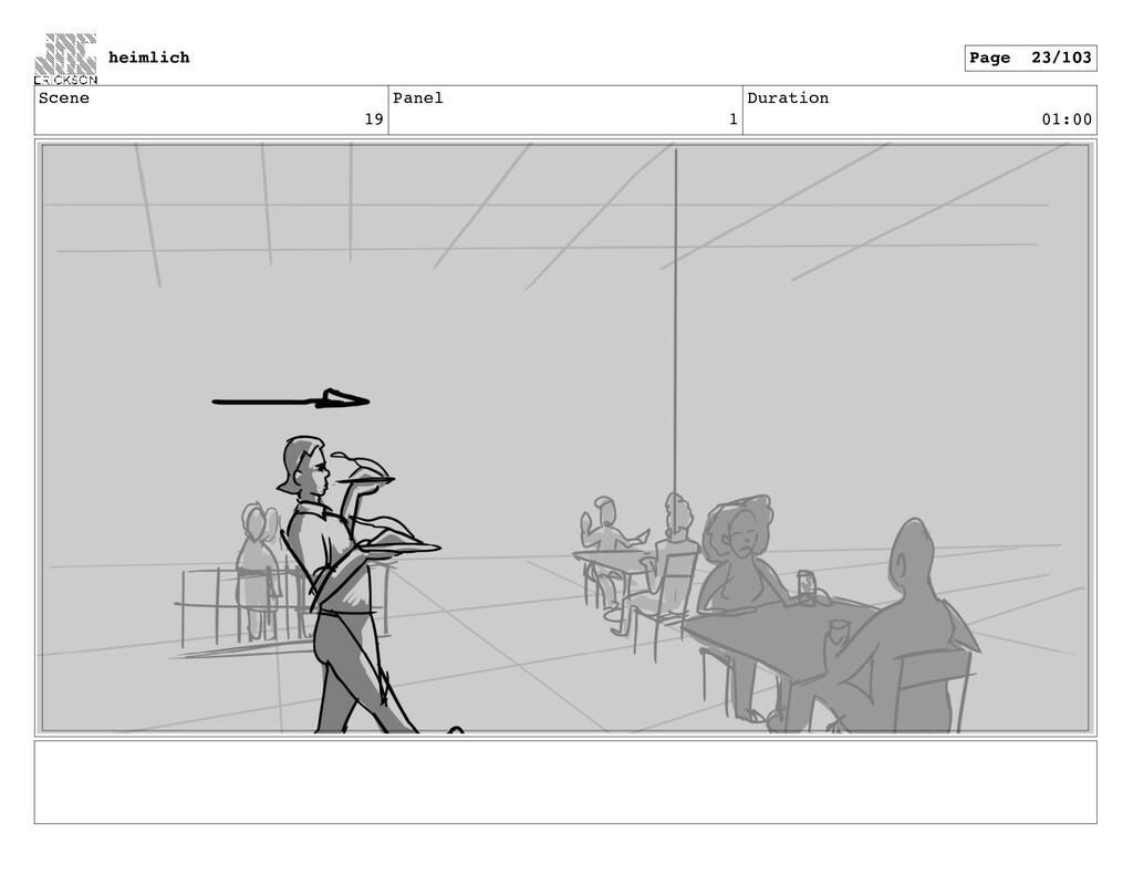 Scene 19 Panel 1 Duration 01:00 heimlich Page 2...
