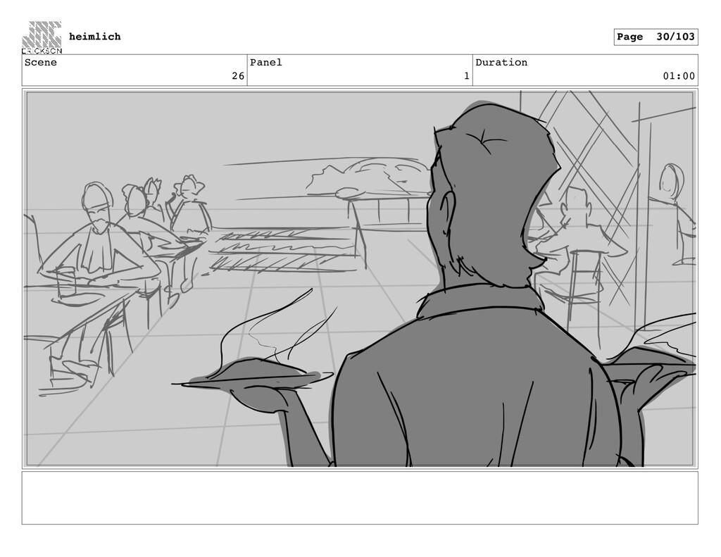 Scene 26 Panel 1 Duration 01:00 heimlich Page 3...