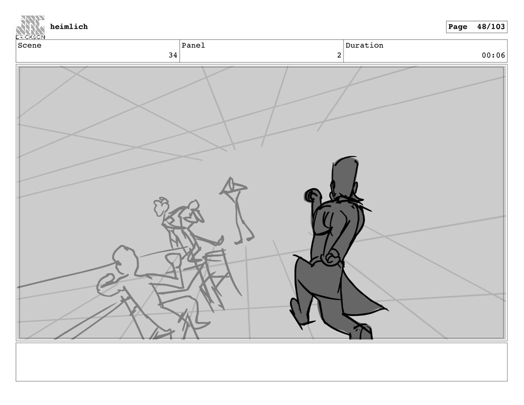 Scene 34 Panel 2 Duration 00:06 heimlich Page 4...