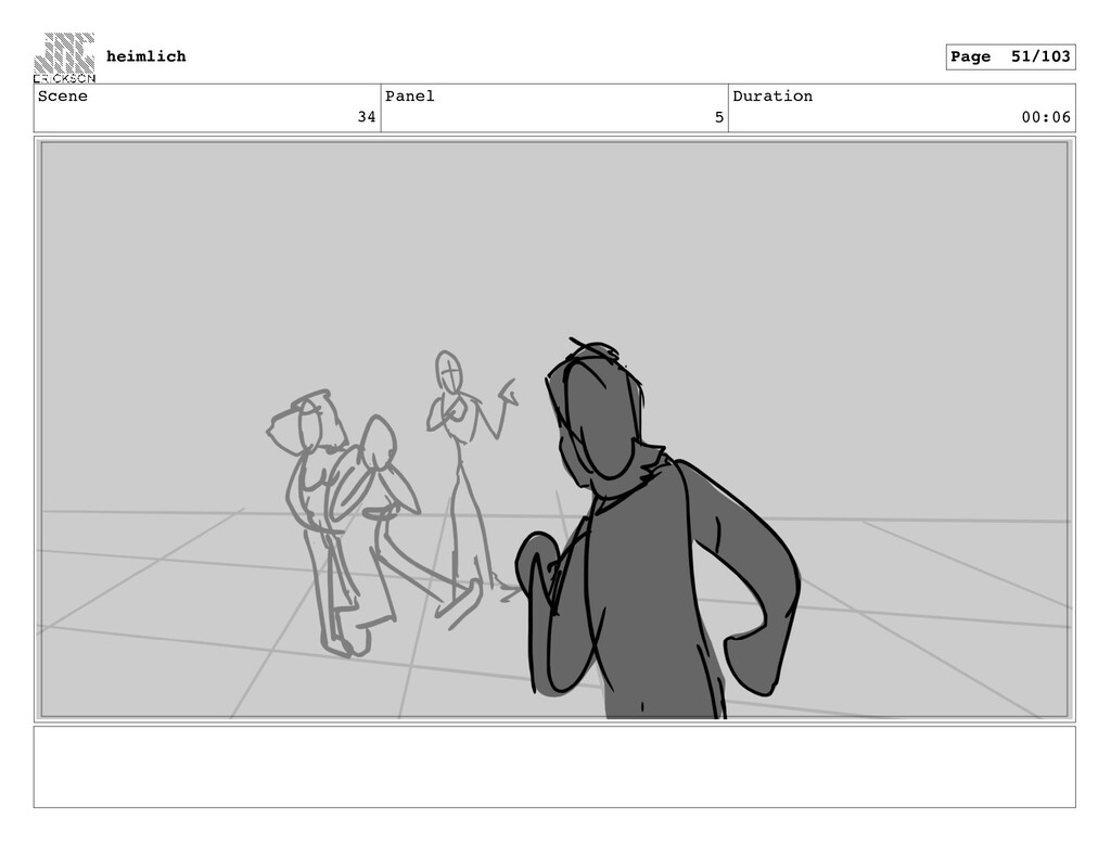 Scene 34 Panel 5 Duration 00:06 heimlich Page 5...