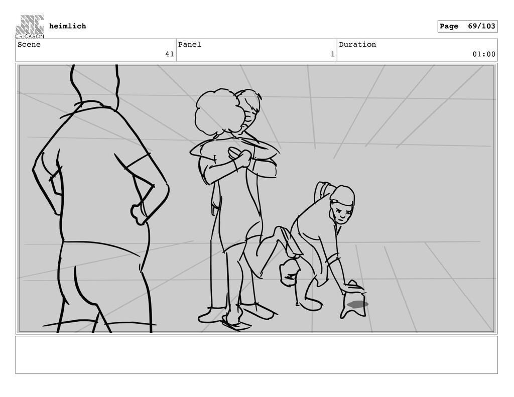 Scene 41 Panel 1 Duration 01:00 heimlich Page 6...