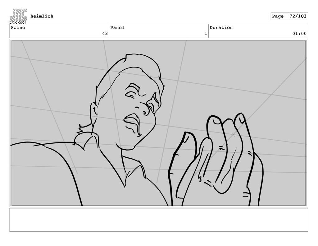 Scene 43 Panel 1 Duration 01:00 heimlich Page 7...