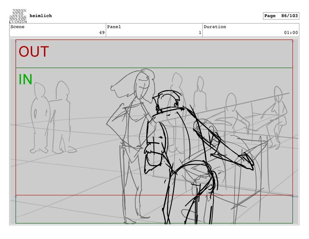 Scene 49 Panel 1 Duration 01:00 heimlich Page 8...
