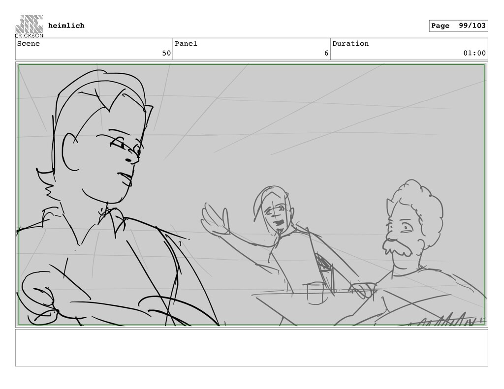 Scene 50 Panel 6 Duration 01:00 heimlich Page 9...