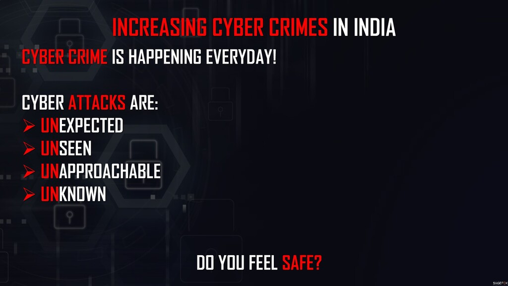 INCREASING CYBER CRIMES IN INDIA CYBER CRIME IS...