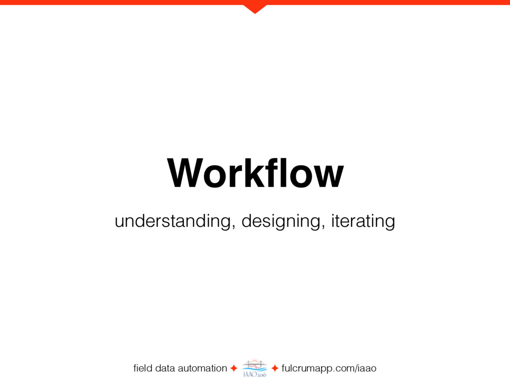 field data automation ✦ ✦ fulcrumapp.com/iaao Wo...