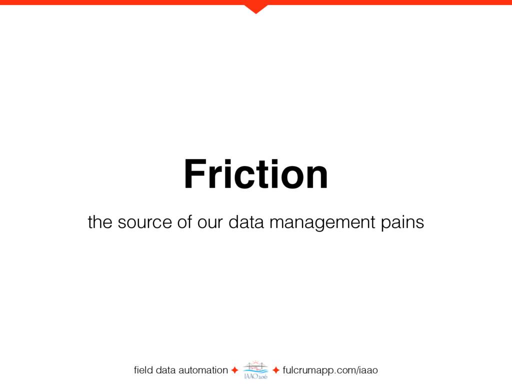 field data automation ✦ ✦ fulcrumapp.com/iaao Fr...