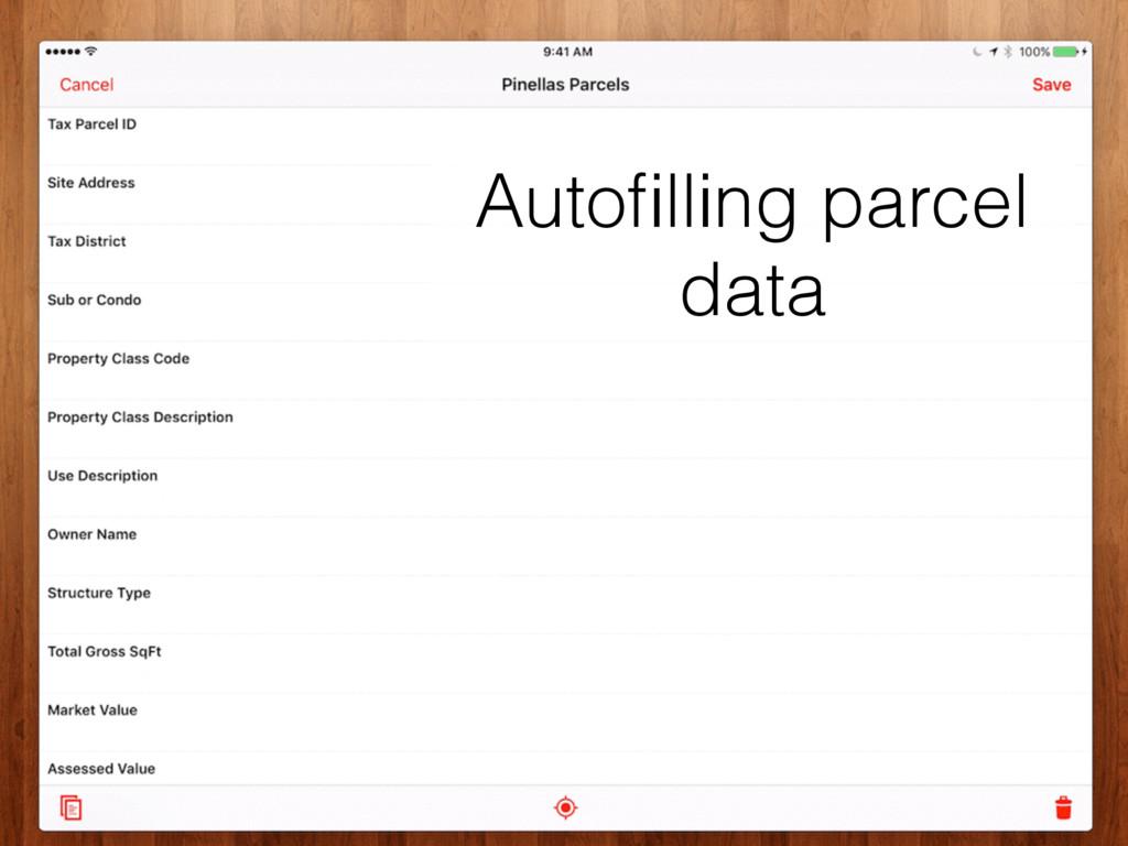 field data automation ✦ ✦ fulcrumapp.com/iaao Au...