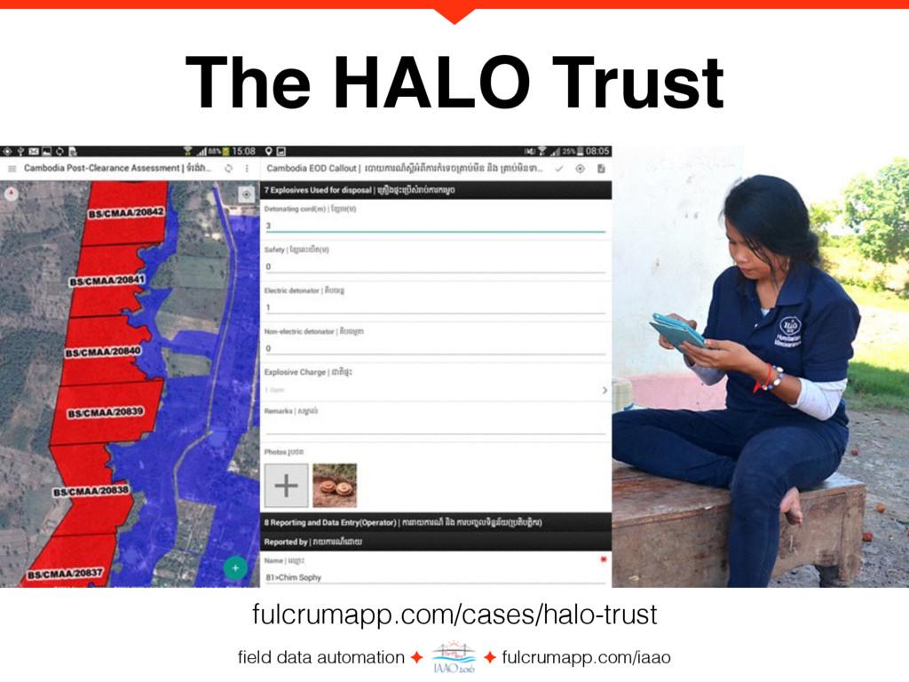 field data automation ✦ ✦ fulcrumapp.com/iaao Th...