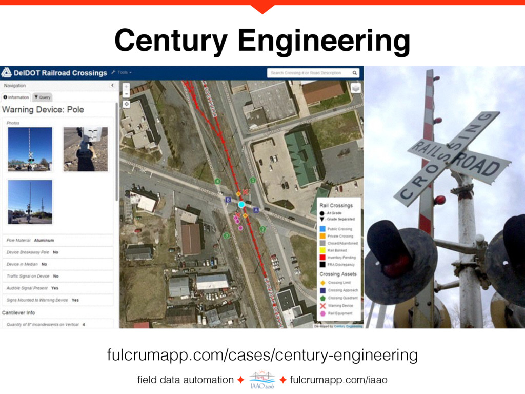 field data automation ✦ ✦ fulcrumapp.com/iaao Ce...
