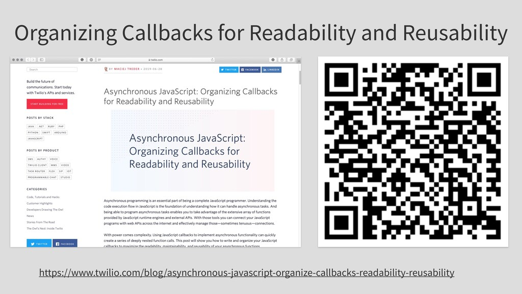 Organizing Callbacks for Readability and Reusab...