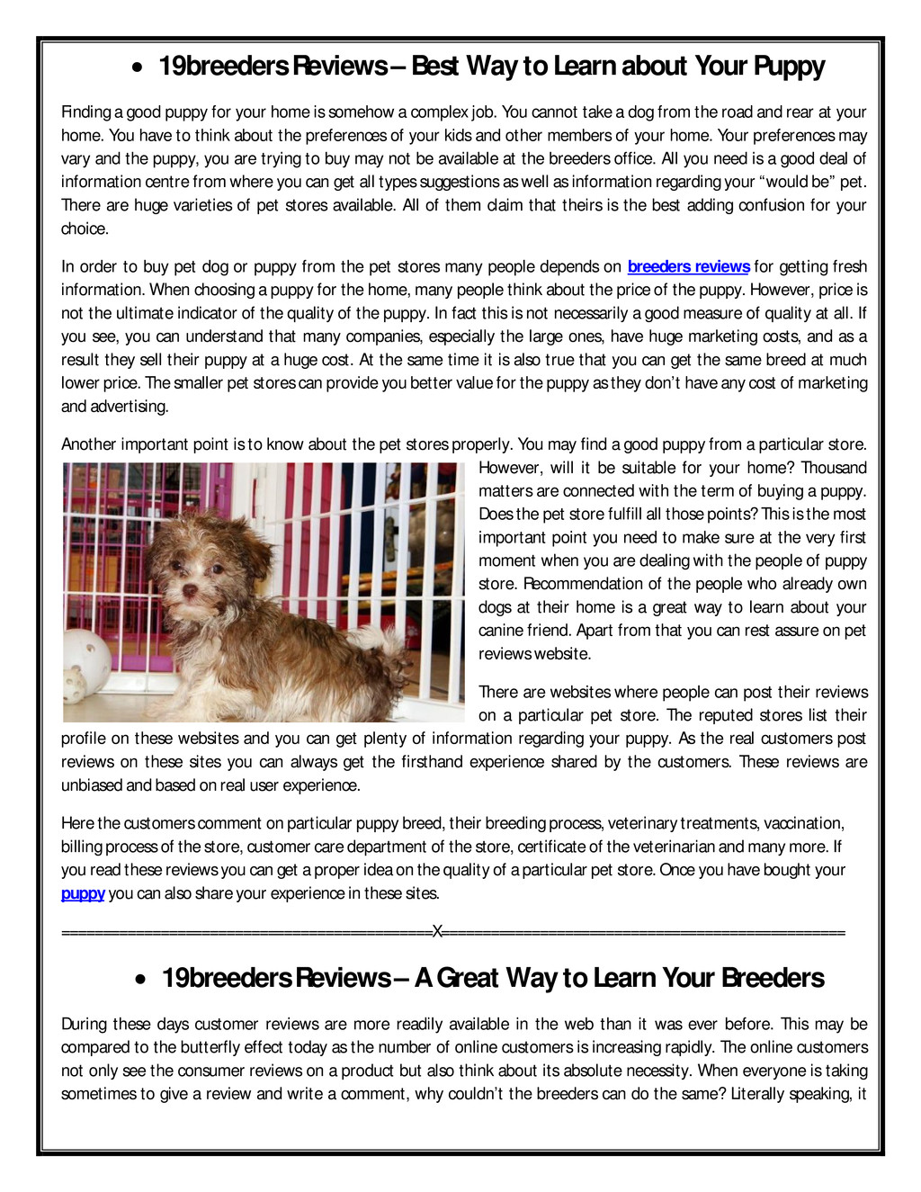 ∑ 19breeders Reviews – Best Way to Learn about ...