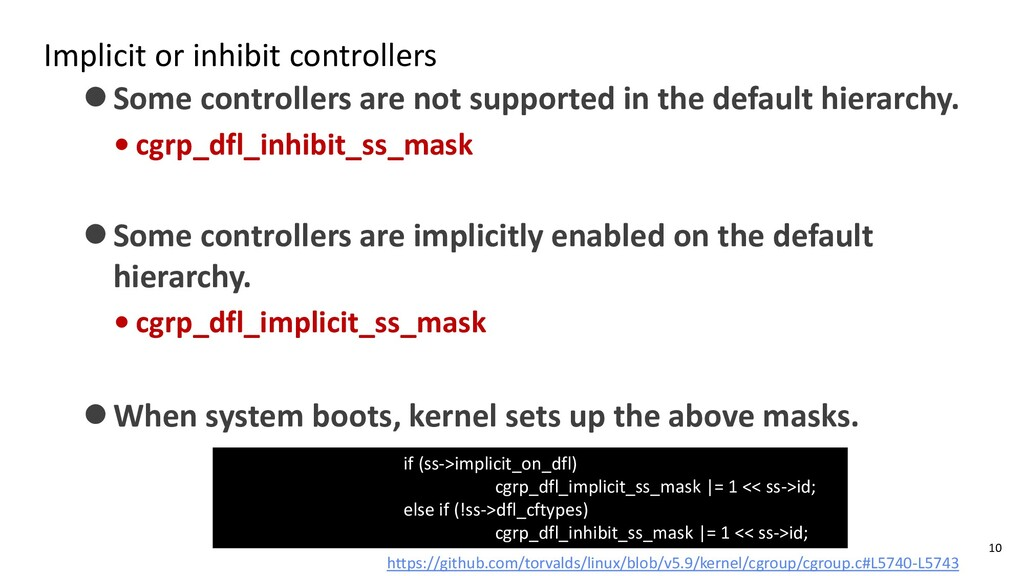 Implicit or inhibit controllers ⚫Some controlle...