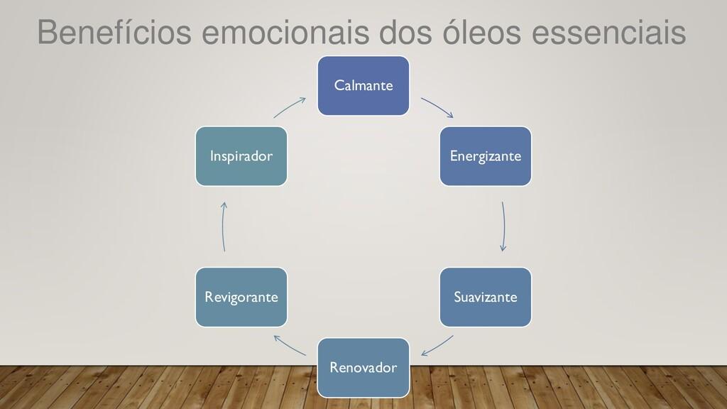 Benefícios emocionais dos óleos essenciais Calm...