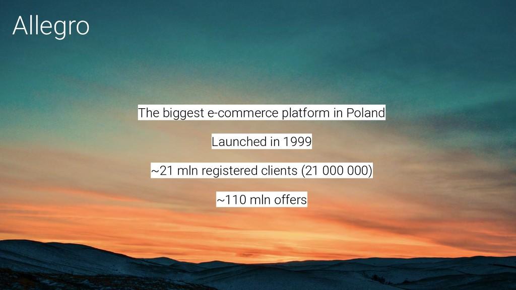 The biggest e-commerce platform in Poland Launc...