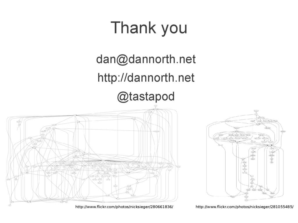 Thank you dan@dannorth.net http://dannorth.net ...