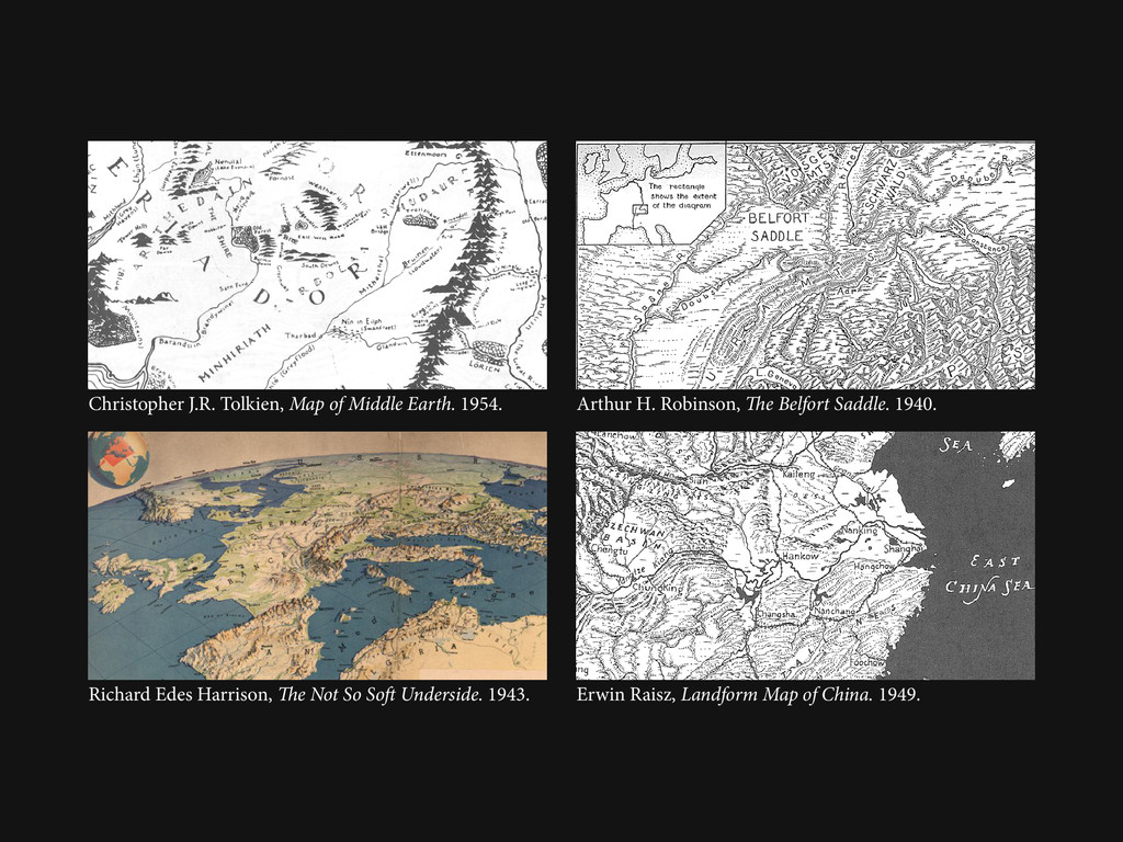Christopher J.R. Tolkien, Map of Middle Earth. ...