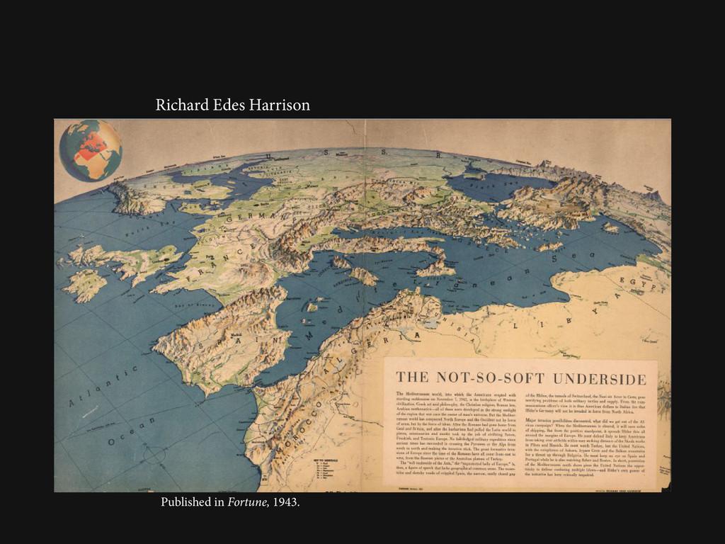Richard Edes Harrison Published in Fortune, 194...