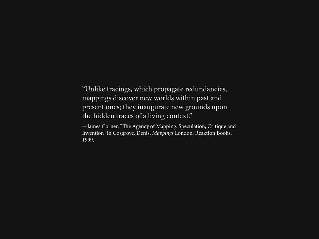 """Unlike tracings, which propagate redundancies,..."