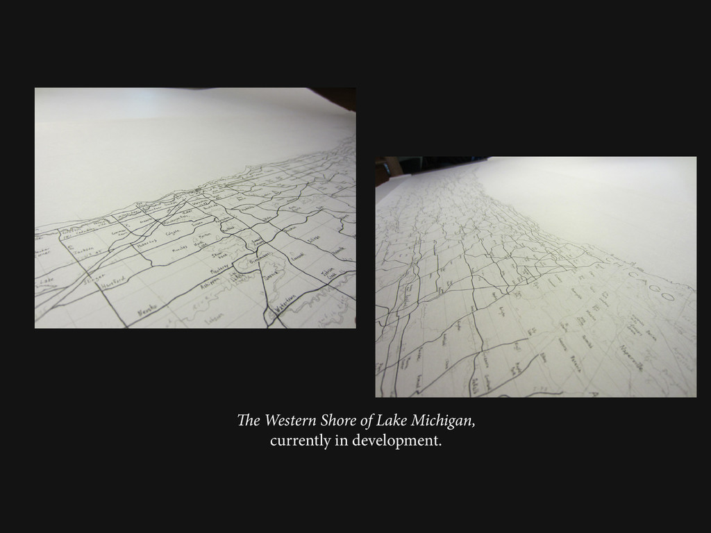 The Western Shore of Lake Michigan, currently i...