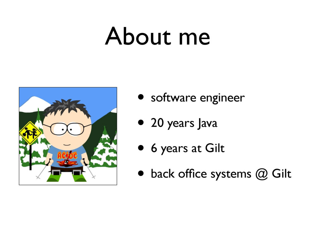• software engineer • 20 years Java • 6 years a...
