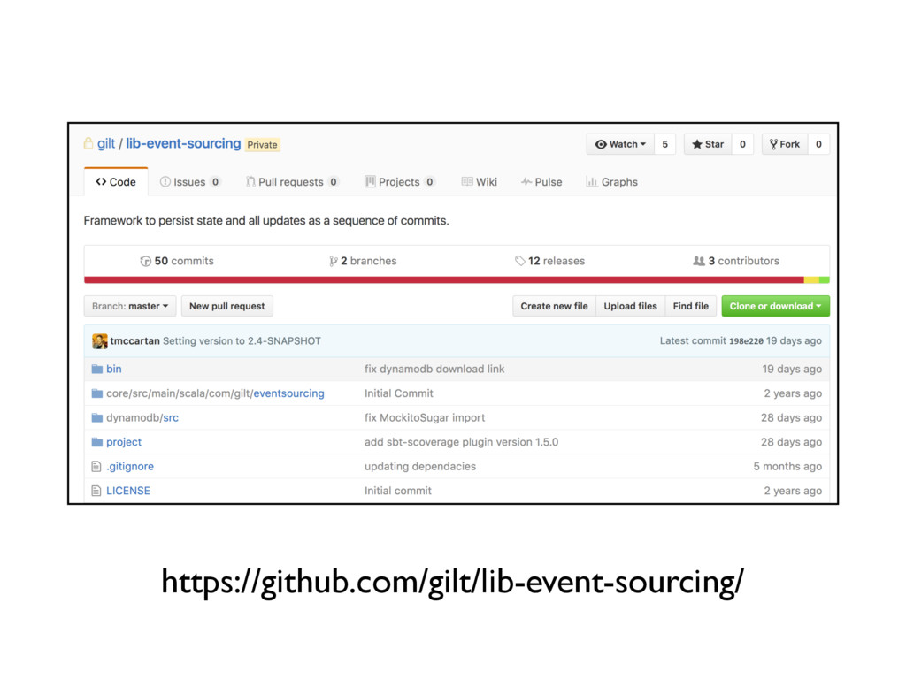 https://github.com/gilt/lib-event-sourcing/