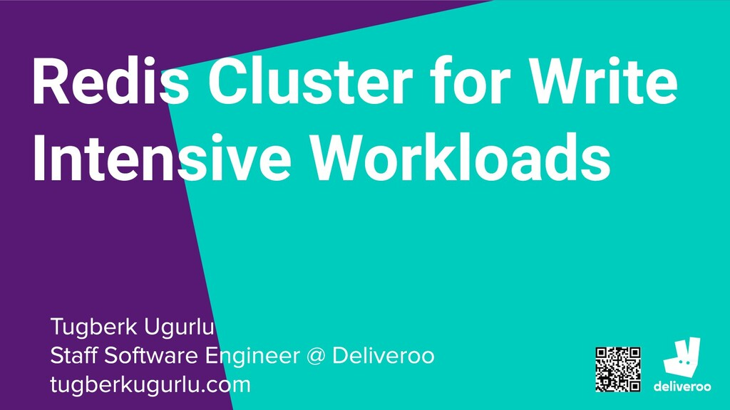 Redis Cluster for Write Intensive Workloads