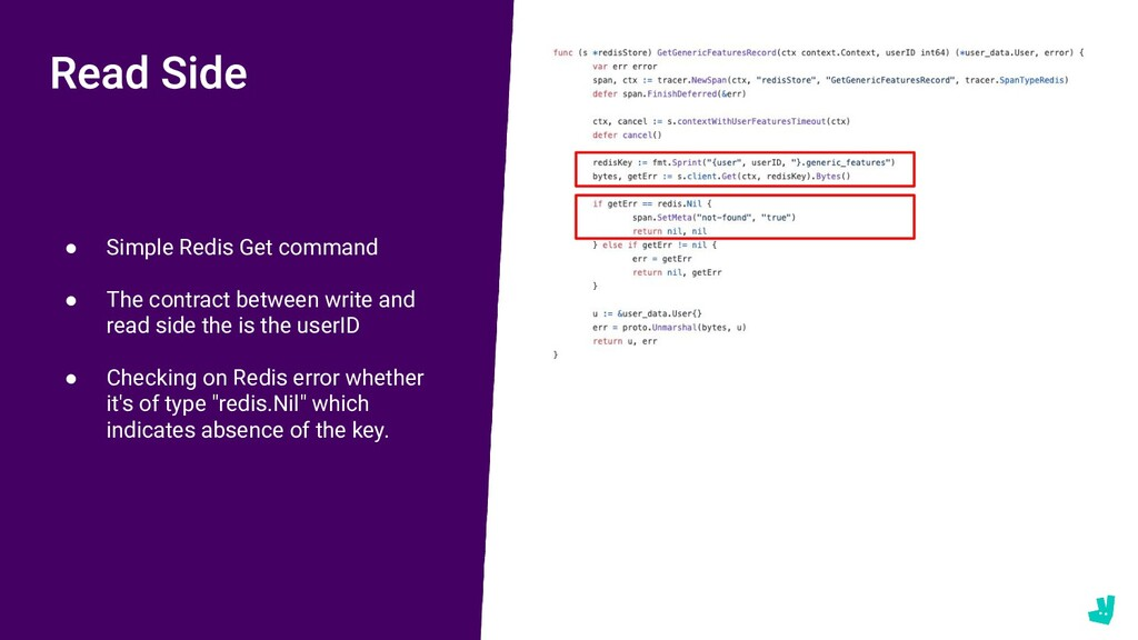 ● Simple Redis Get command ● The contract betwe...