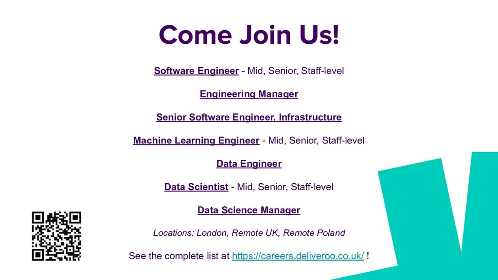 56 Software Engineer - Mid, Senior, Staff-level...