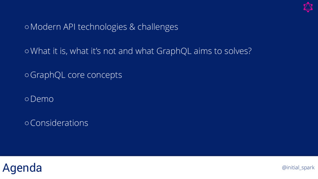 ◦Modern API technologies & challenges ◦What it ...