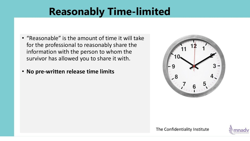 """Reasonably Time-limited • """"Reasonable"""" is the a..."""