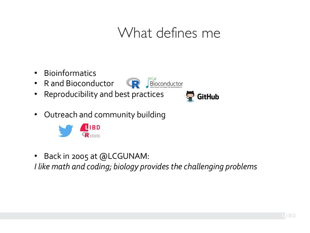 • Bioinformatics • R and Bioconductor • Reprodu...