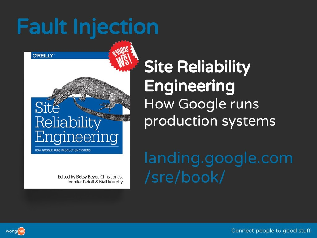 Fault Injection Site Reliability Engineering Ho...