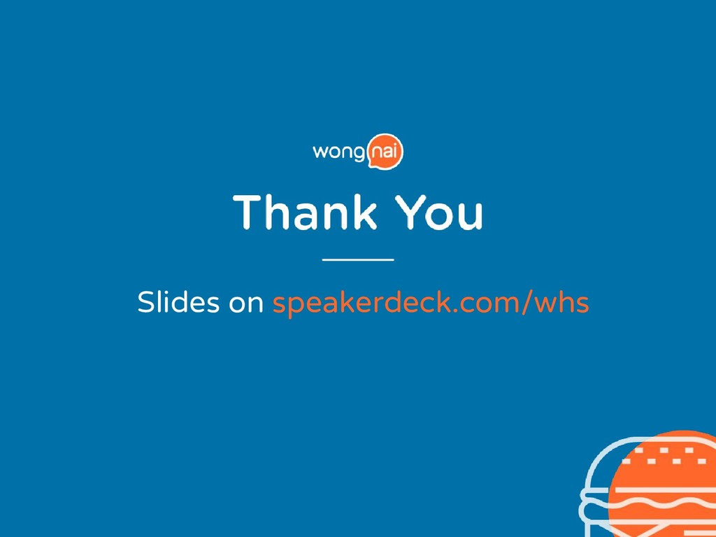Slides on speakerdeck.com/whs