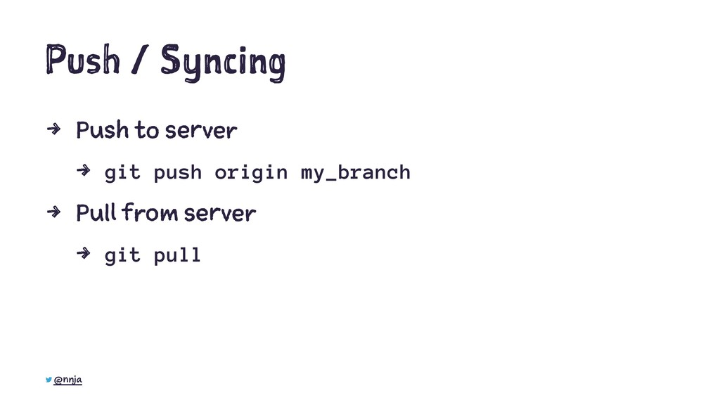 Push / Syncing 4 Push to server 4 git push orig...