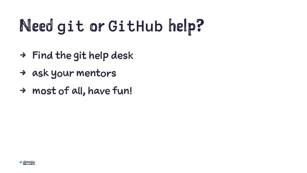 Need git or GitHub help? 4 Find the git help de...