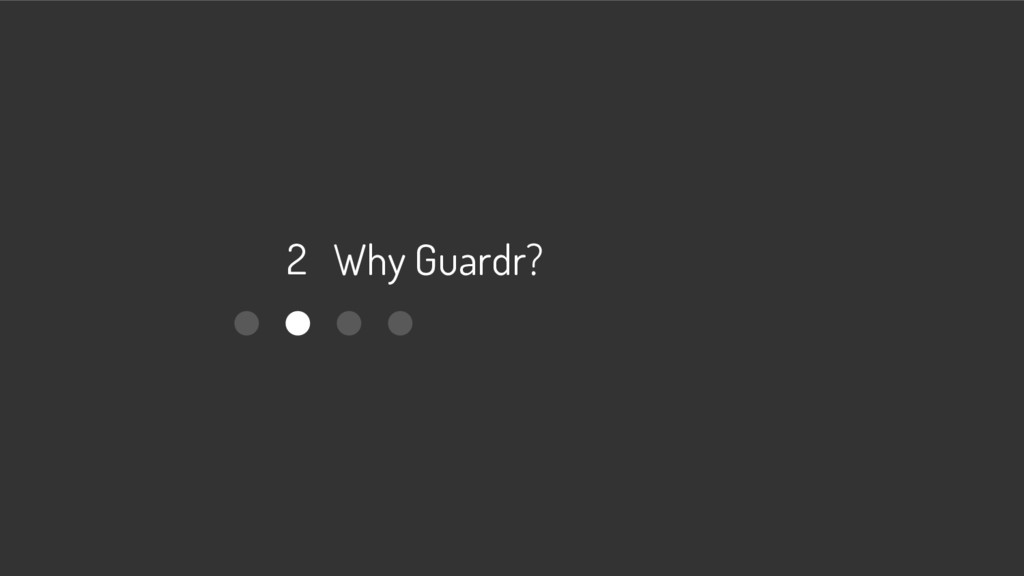 2 Why Guardr?