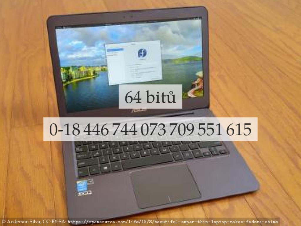 64 bitů 0-18 446 744 073 709 551 615 © Anderson...