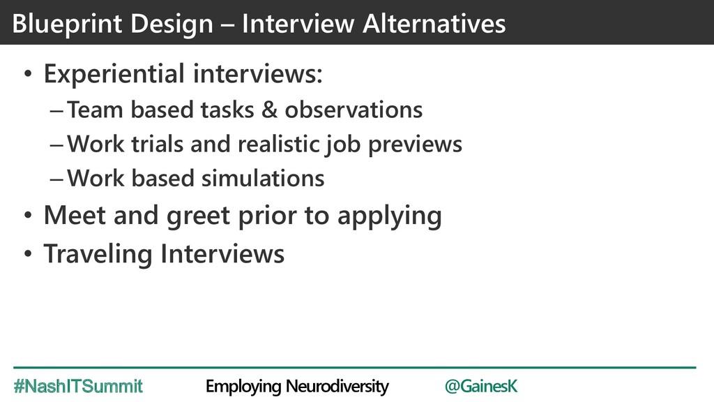 @GainesK Employing Neurodiversity #NashITSummit...