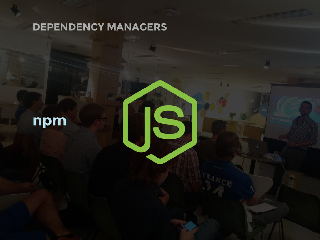 DEPENDENCY MANAGERS npm