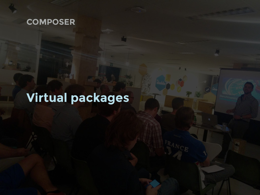 COMPOSER Virtual packages
