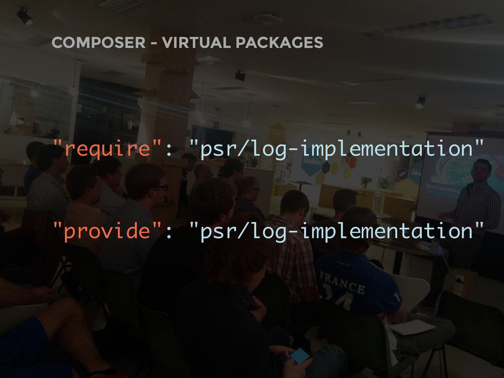 """COMPOSER - VIRTUAL PACKAGES """"require"""": """"psr/log..."""