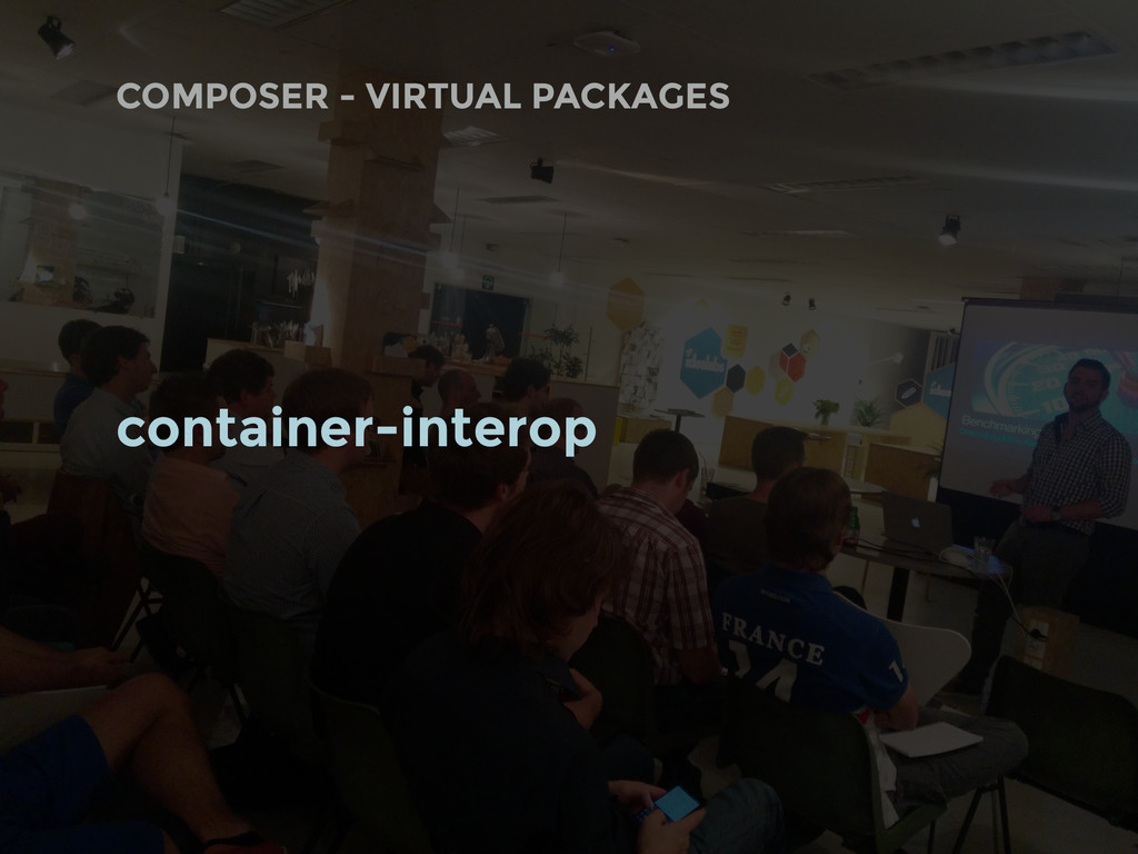 COMPOSER - VIRTUAL PACKAGES container-interop
