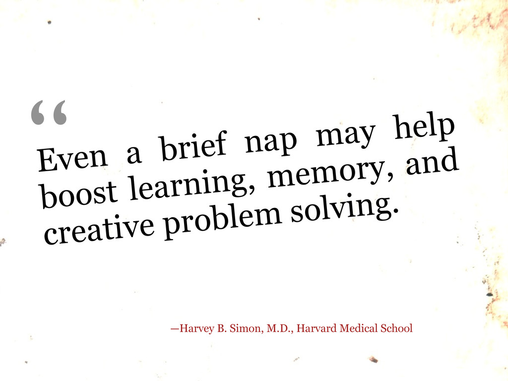 Even a brief nap may help boost learning, memor...
