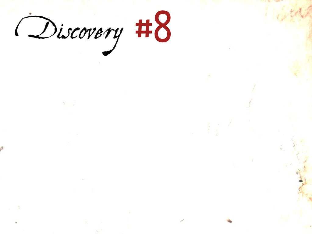 Discovery #8