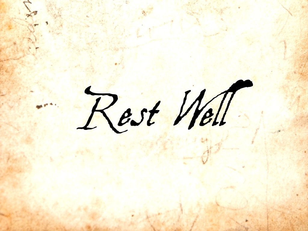 Rest Well